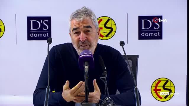 """Samet Aybaba: """"Pozisyon bulduk ama gol bulamadık"""""""