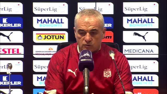 Göztepe-Sivasspor maçının ardından