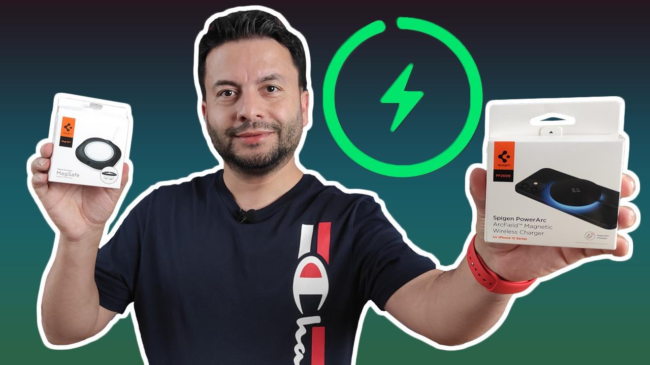 MagSafe'i aratmıyor: Spigen PowerArc inceleme Akıllı telefonlar için dayanıklı aksesuarlar üreten Spigen, Apple lisansına sahip MagSafe uyumlu Spigen…